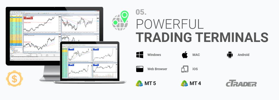 IC Markets offers Metatrader Platforms