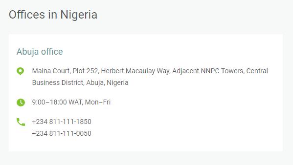 Alpari Nigeria Office