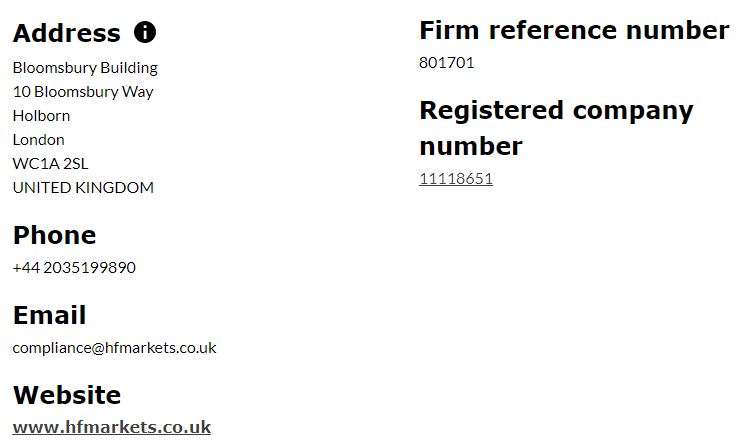 Hotforex is regulated by FCA